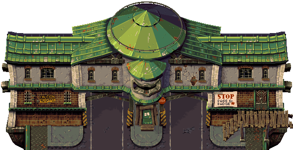 Tower 57 - toll station by Cyangmou