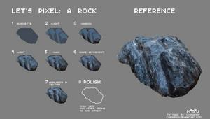 Let's Pixel: A Rock