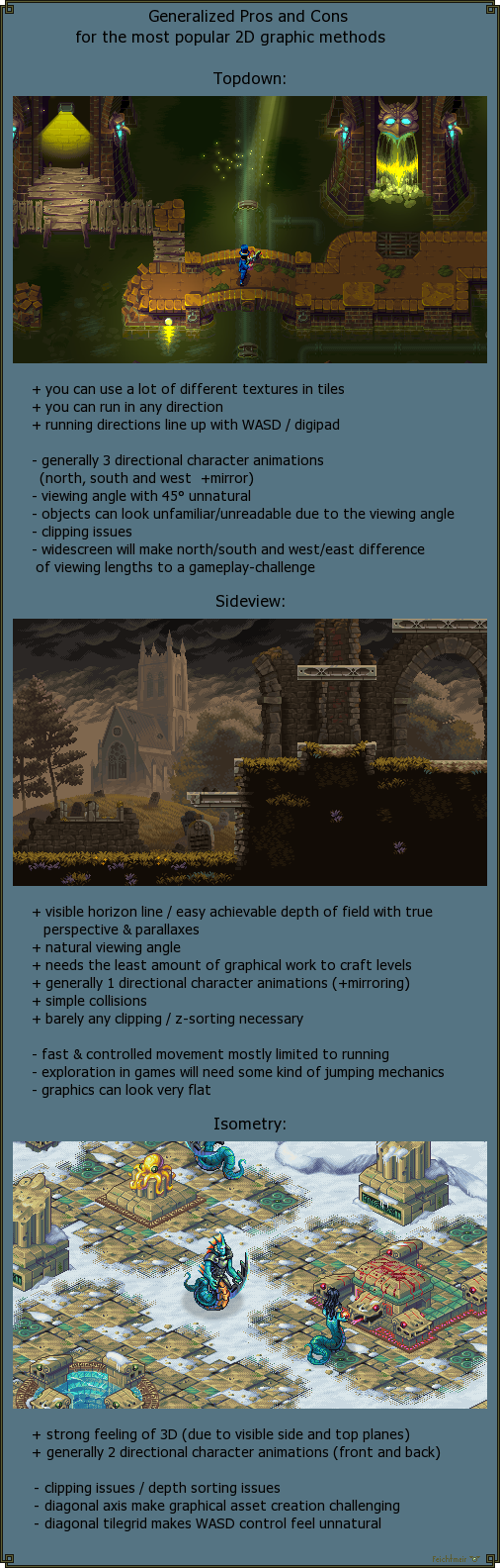 2D Graphics Methods - Pros and Cons by Cyangmou on DeviantArt