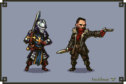 Darkest Dungeon by Cyangmou