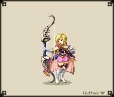 Louise - Lady of Violets - Fire Emblem 7 - Hi Bit by Cyangmou