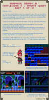 Graphical Design in Castlevania 2 - Part 4 of 10