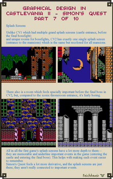 Graphical Design in Castlevania 2 - Part 7 of 10