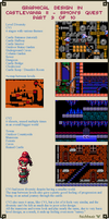Graphical Design in Castlevania 2 - Part 9 of 10