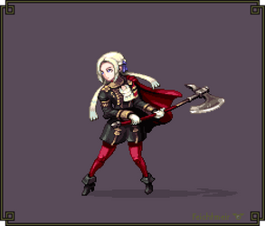 Edelgard - Fire Emblem 16 - Hi-Bit