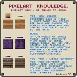 Pixelart Sins - Beginner Issues by Cyangmou