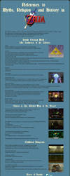 References in Zelda Ocarina of Time by Cyangmou