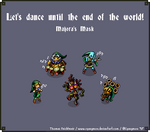 Let's dance until the end of the world