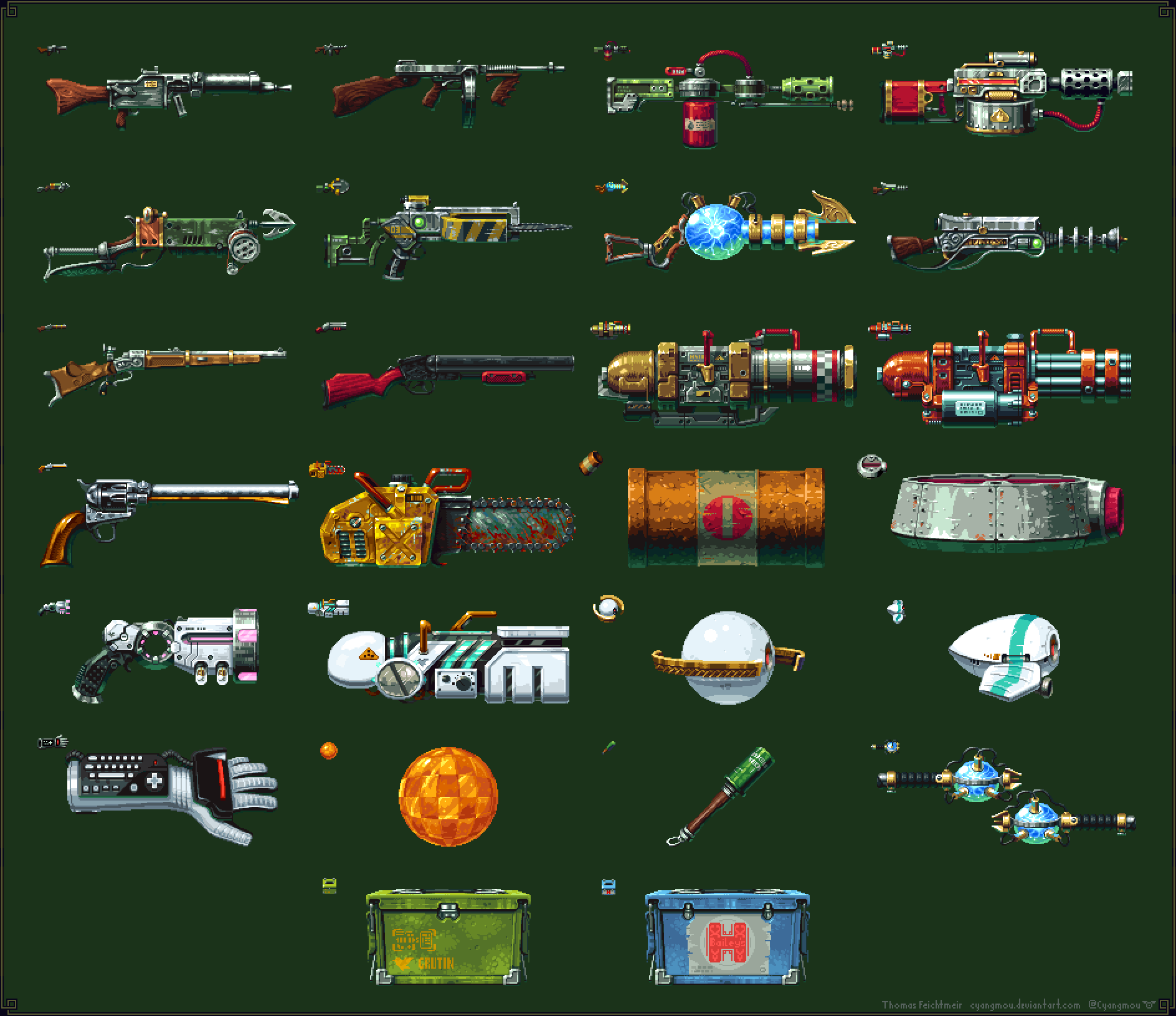 Tower 57 weapons