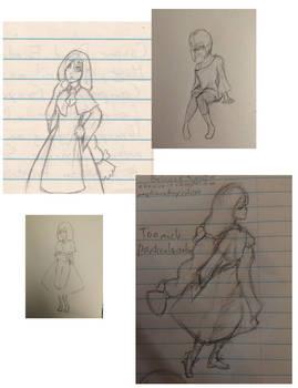 OC doodles: Nereid Sefira Una