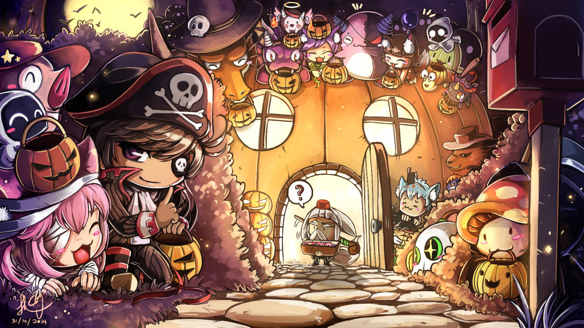 Halloween Surprise Speciallllllll by CPoring