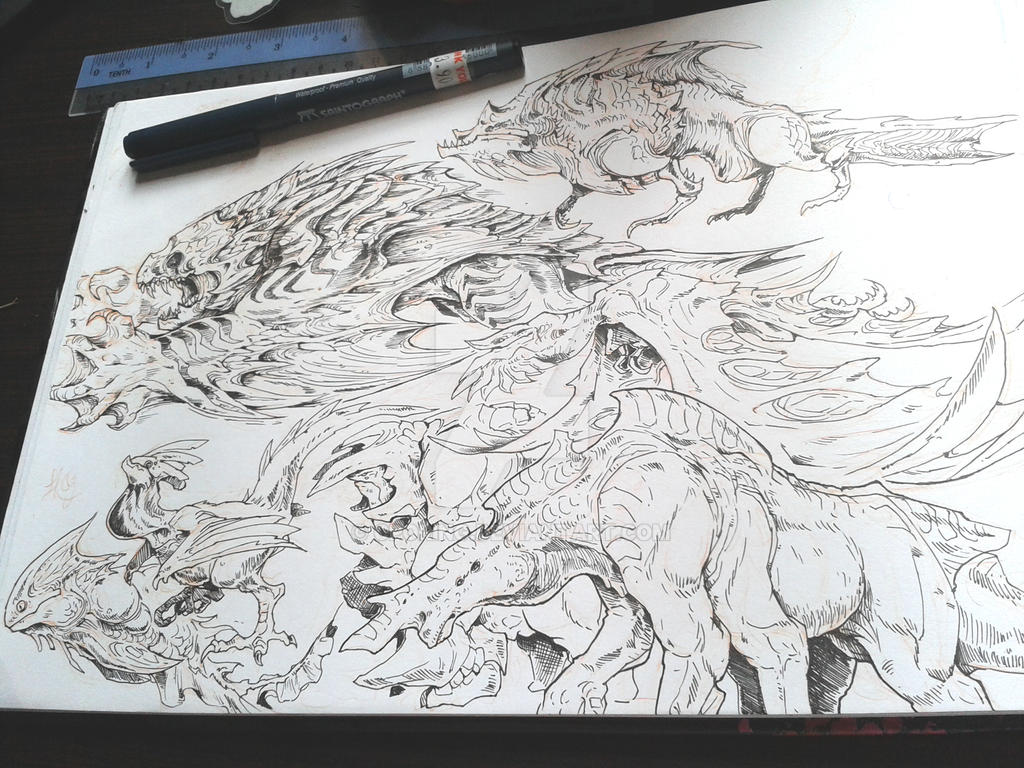 Creatures Practies by CPoring