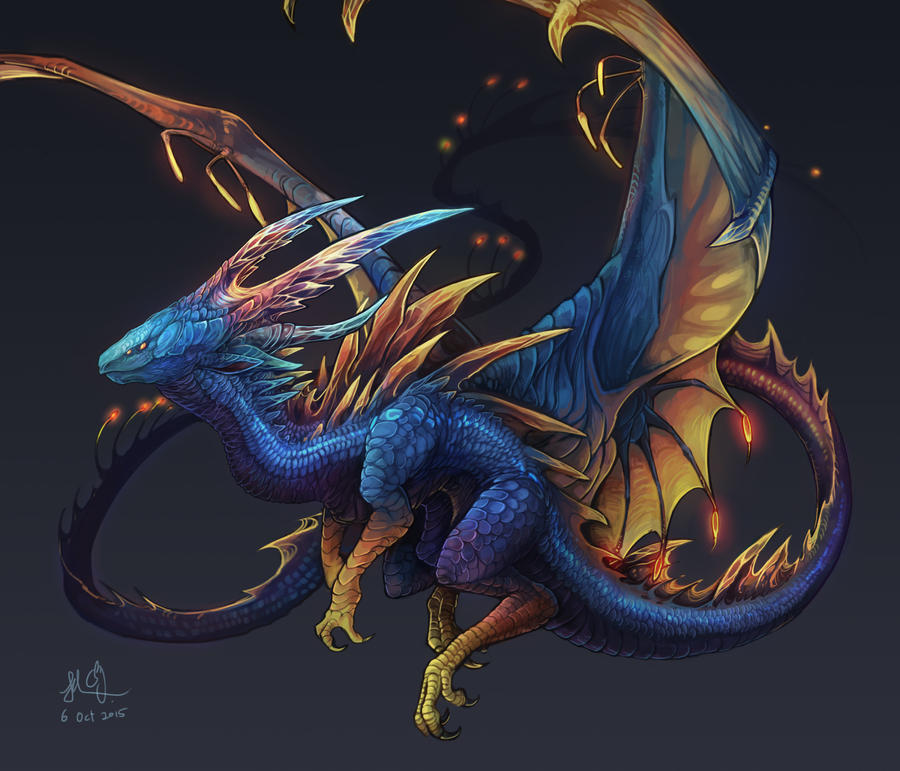 Lantern Dragon by CPoring