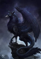 Dark Griffin by CPoring