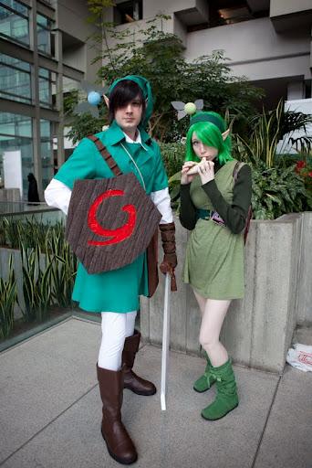 of time cosplay Ocarina zelda