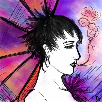 Like Bubblelicious Breath by SketchyKitten