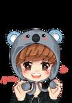 Luhan : Koala Hat
