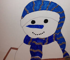 Snowman by momodreamer
