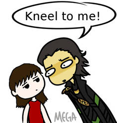 Loki is a creeper by momodreamer