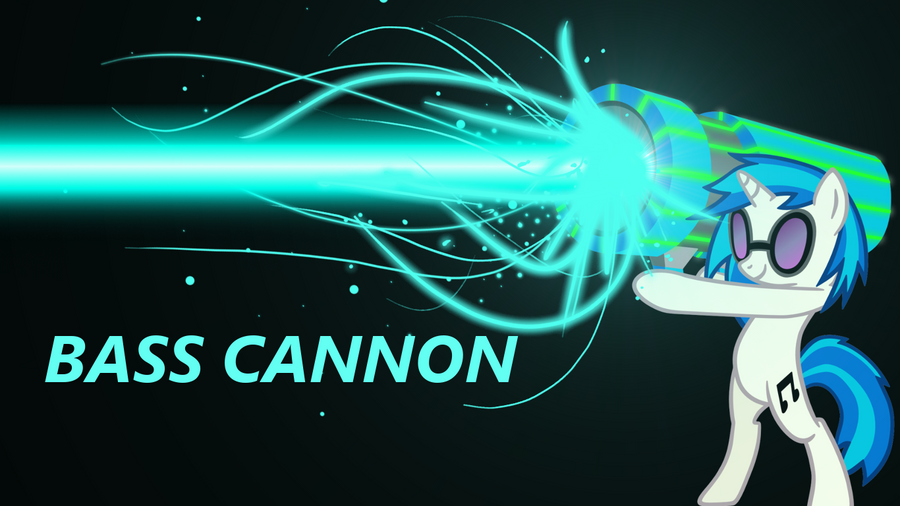 Real Life Bass Cannon For Dj Pon3 Vinyl Scratch Pony