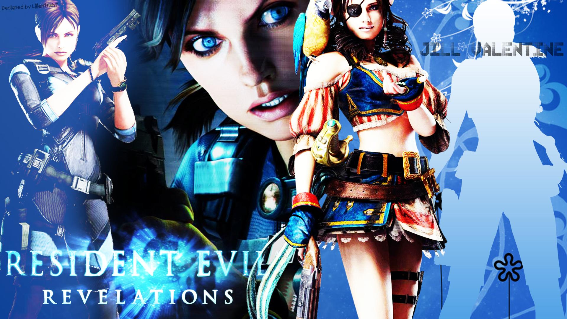 Resident evil revelations jill and chris