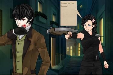 Vampire hunter page 1 by Hyo38