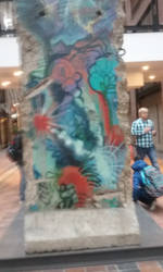 Piece of the Berlin Wall by Hyo38