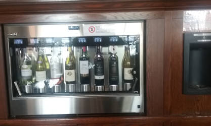 A wine vending machine. by Hyo38