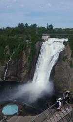 Montmorency falls... again by Hyo38