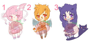 Pokemon Gijinkas Batch 003 [Closed]