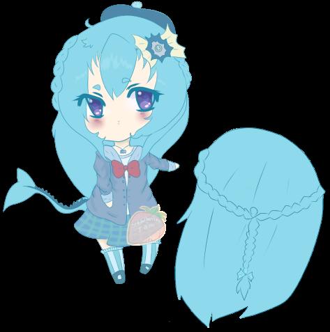 Custom Gijinka Adopt by StrawberriesJam