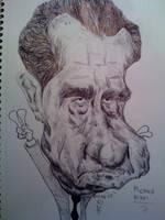 Richard Nixon by cartoonicature93