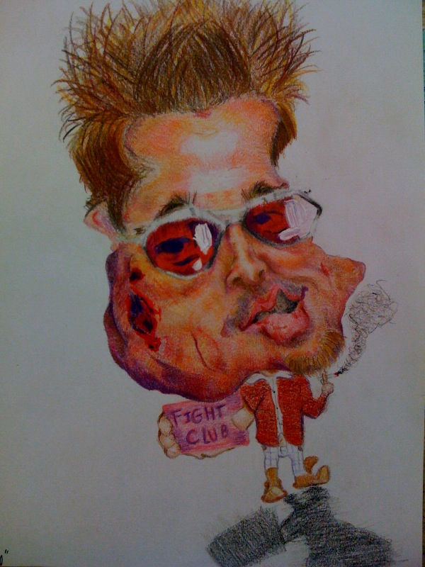 brad pitt caricature. Brad Pitt Caricature by ~cartoonicature93 on deviantART
