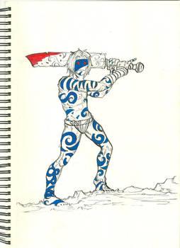 Pict warrior