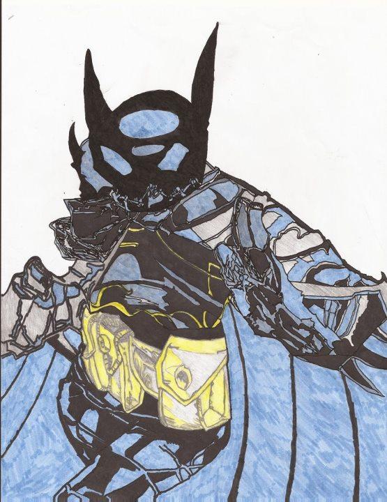 Cassandra Cain Batgirl (color version) by Rapter57