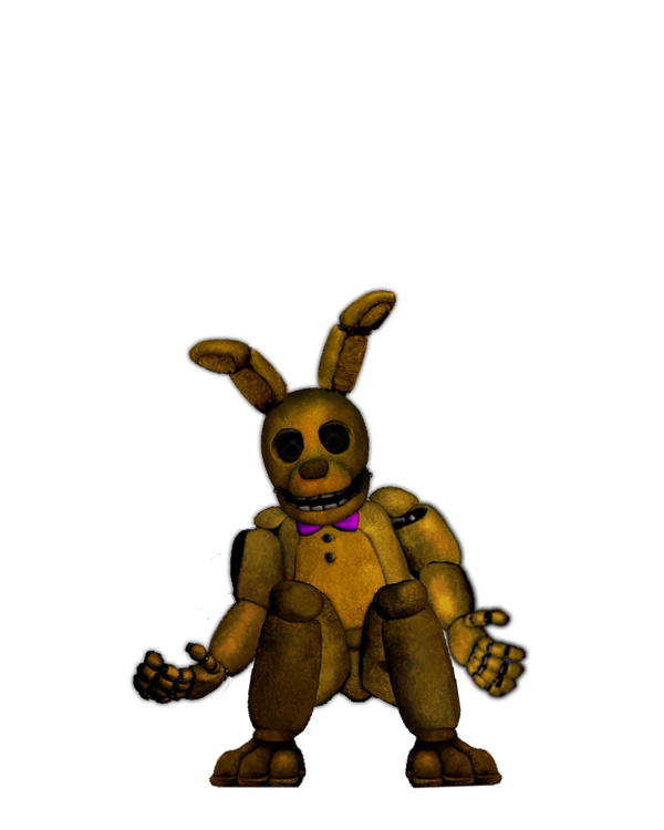 SpringBonnie Suit By Woodyfromtexas On DeviantArt