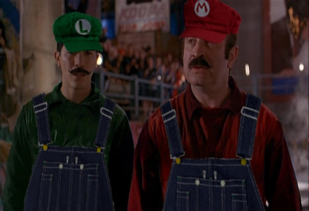 Super Mario Bros Movie Mario And Luigi New Style By