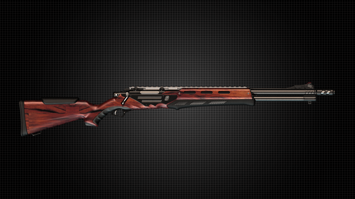 Futuristic heavy rifle by Cleitus2012