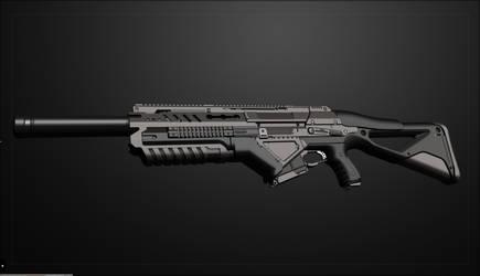 Submachine Gun 4(lost Scene) by Cleitus2012