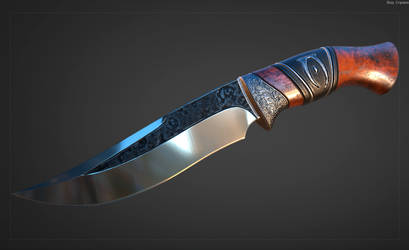 Silver Knife - TES 4 Oblivion by Cleitus2012