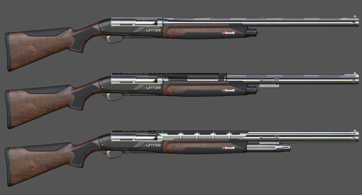 Benelli Hunter - Modifications by Cleitus2012