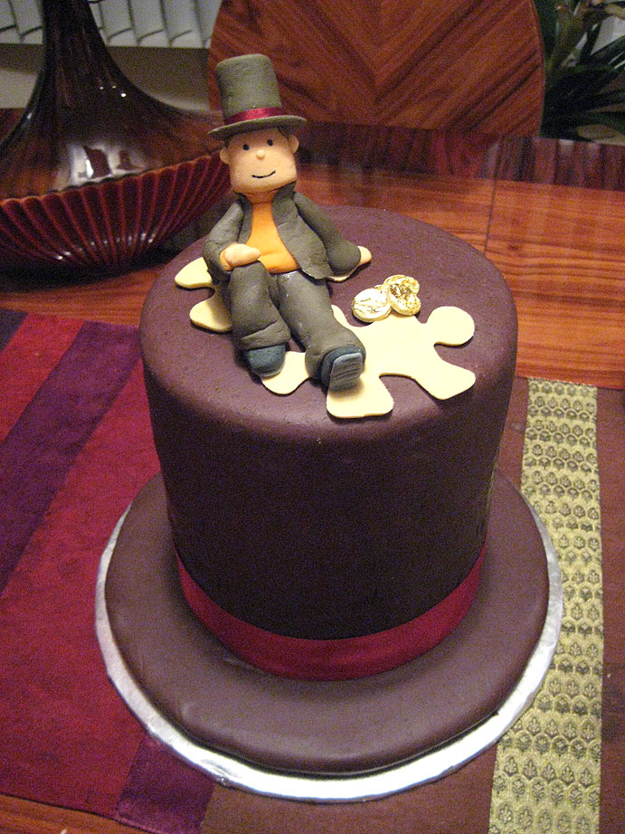 This cake reminds me of a... by upCrest