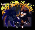 29th birthday of the blue boy