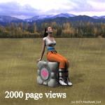 2000 page views