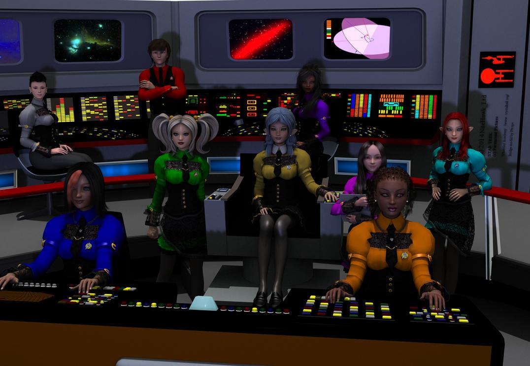 Kimba Trek Dress Uniforms by nitehawk-ltd
