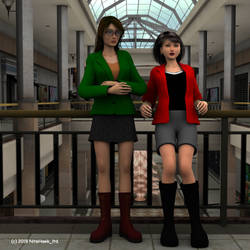 Christmas with Daria and Jane by nitehawk-ltd
