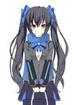 If HDN Goddness was a Schoolgirl 1 : Noire