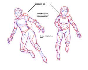 Standard Space Suit
