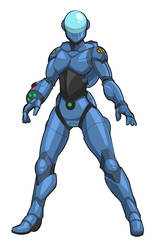 Terran Republic Power Armor