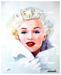 Marilyn Monroe finished